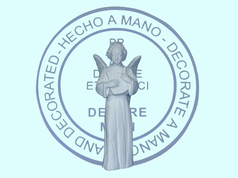 Ange florentin debout lyre