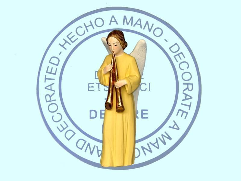 Ange florentin debout trompette