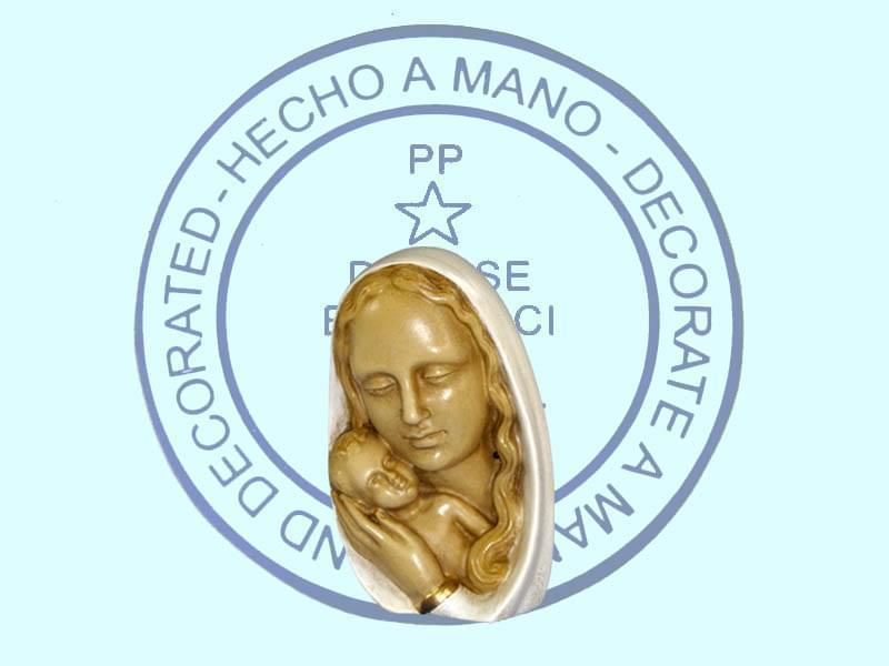 Buste Vierge mère